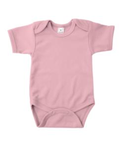 Romper - Korte Mouw - Licht Roze