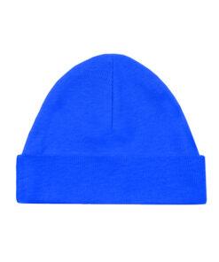 Babymutsje - Bedrukt - Blauw